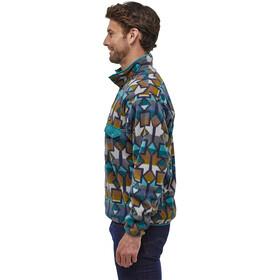 Patagonia Lightweight Synchilla Snap-T Pullover Hombre, cedar mesa big/neo navy